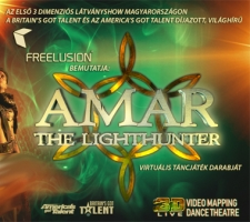 Amar, the lighthunter - 3D látványshow